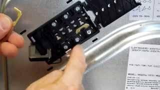 Как проверить и заменить конфорку в электроплите