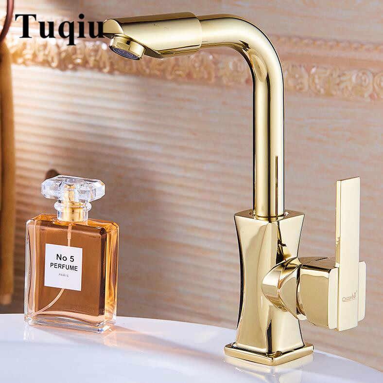 Смесители «под золото»: матовые и хромированные краны для ванной комнаты золотого цвета