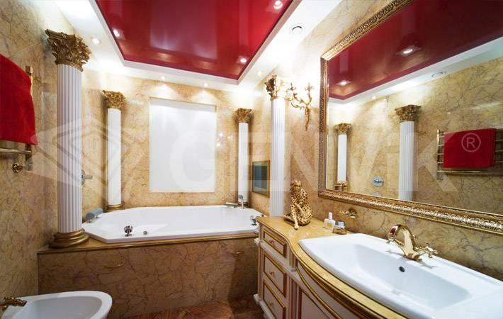 Какой потолок лучше сделать в туалете