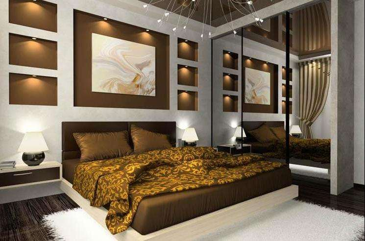 Ремонт спальни: 90 фото вариантов отделочных работ своими руками