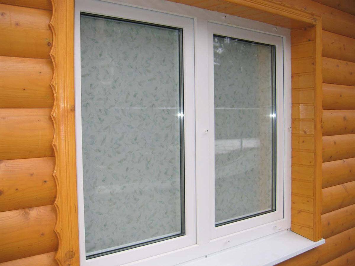 Как установить пластиковые окна в деревянный дом: технология установки