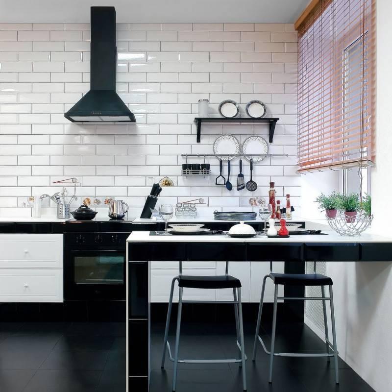 Фартук из плитки «кабанчик» в интерьере кухни – от выбора дизайна до укладки своими руками
