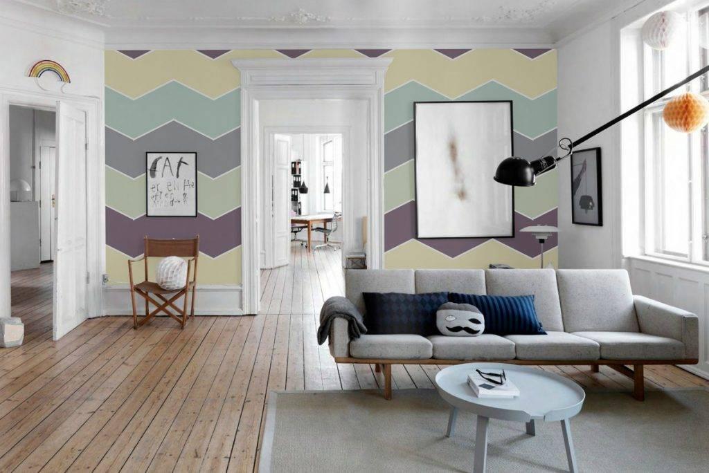 Покраска стен в квартире. фото вариантов стен под покраску