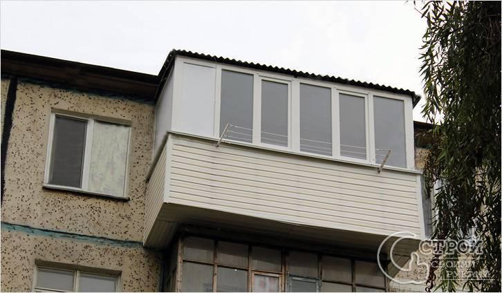 Балкон с выносом: варианты и этапы работ