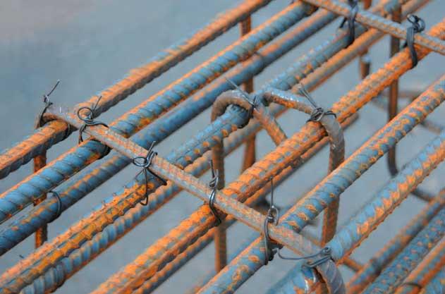 Вязка арматуры для фундамента: технология, правила, схема + фото