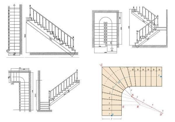 Забежная лестница своими руками, пошаговая инструкция