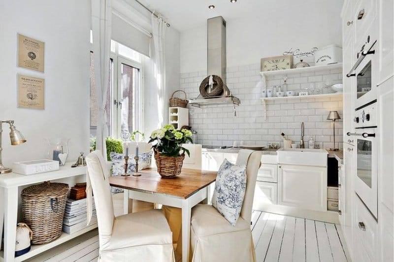 Кухни в деревенском стиле (26 фото + фотоотчеты)