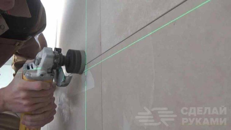 Как сверлить кафельную плитку на стене?