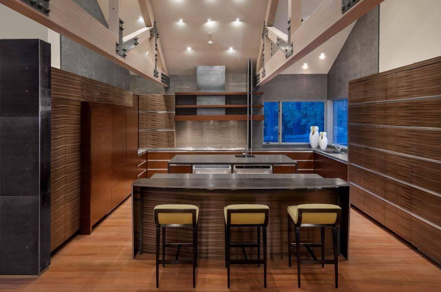 Все оттени кухни зебрано, помощь правила проектирования кухни