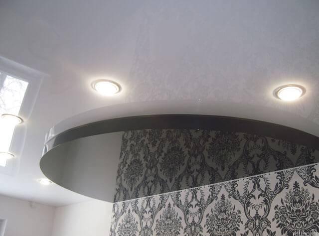 Двухуровневые потолки из гипсокартона: выбор материалов, монтаж