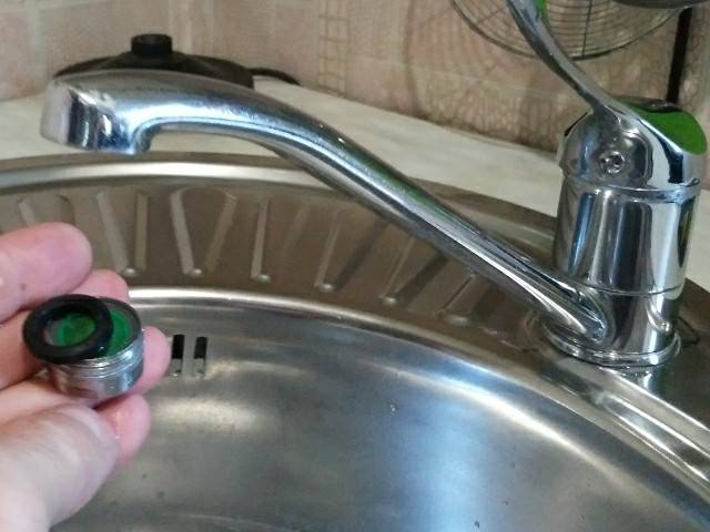 Как очистить кран от известкового налета в домашних условиях