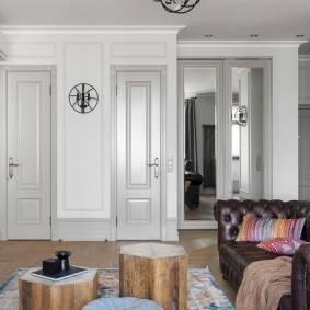 Серые двери в интерьере превосходны — делаем выбор — 32 фото
