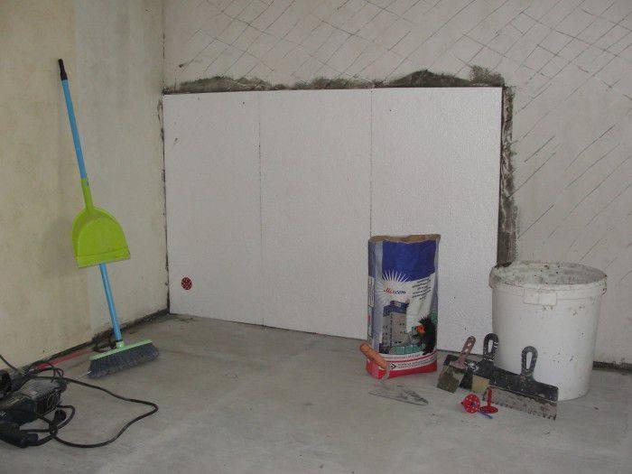 Инструкция по утеплению пенопластом изнутри помещения