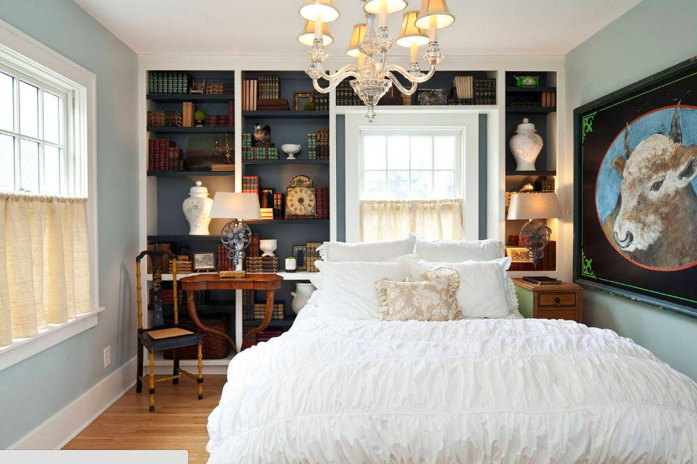 Стеллаж для спальни