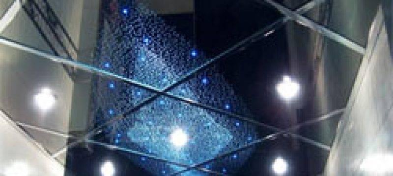 Делаем зеркальный потолок в ванной комнате своими руками + фото и видео