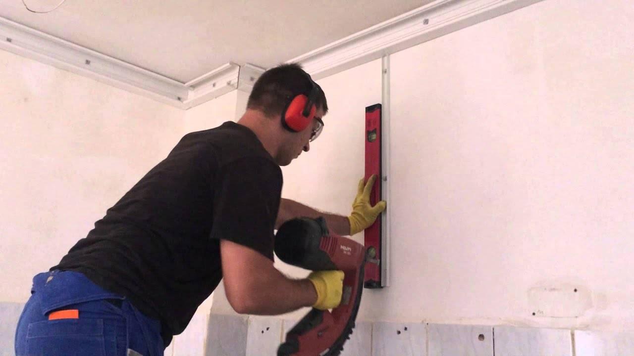 Как кабель канал: как крепить к бетонной стене и потолку? Советы