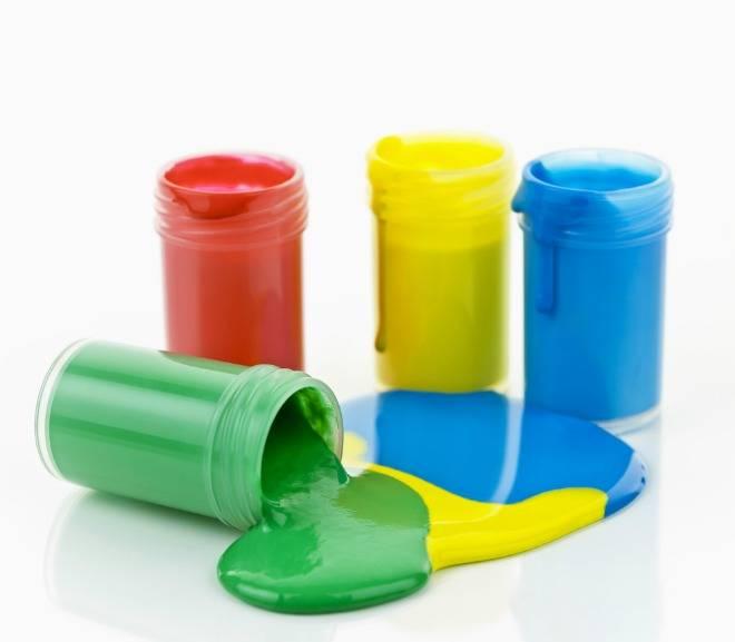 Как получить нужный цвет при смешивании акриловых красок