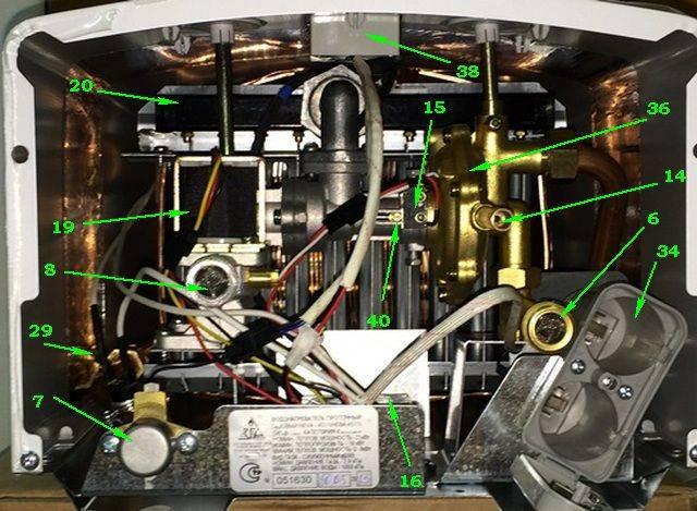 Как настроить газовую колонку нева 4511 - инженер пто