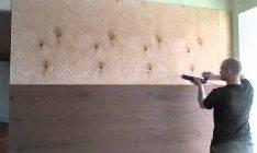 Укладка ламината на клей к полу