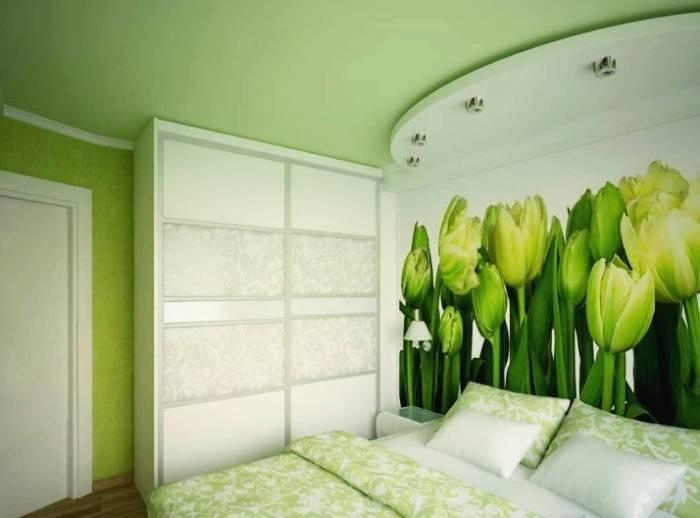 Зеленые обои (50 фото): какие темные и светлые тона подойдут для оформления стен, как сочетаются эти цвета с другими, узоры и полоски в стилях интерьера
