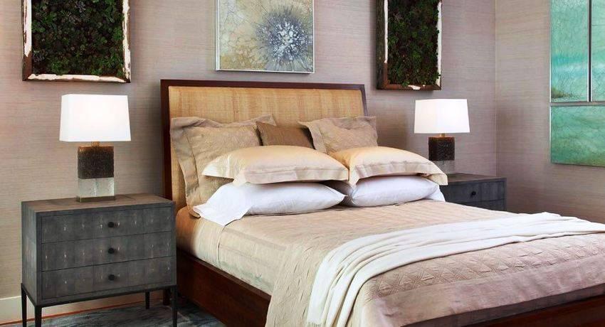 Прикроватные тумбы для спальни - разновидности и правила выбора