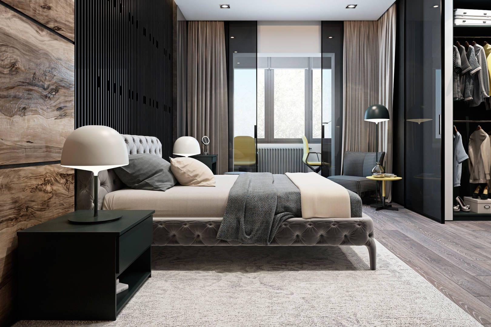 Дизайн комнаты 12 кв. метров: советы дизайнеров, секреты правильного зонирования.