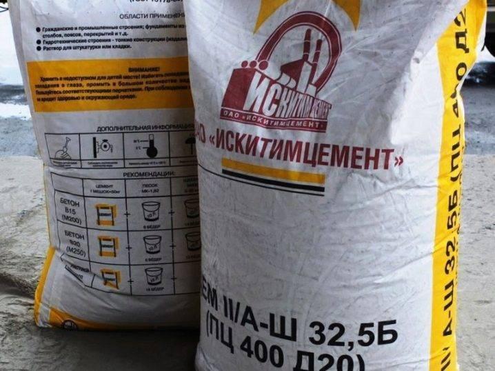 Цемент пц 500 (пц500, д20) — 50 кг: характеристики, область применение, маркировка