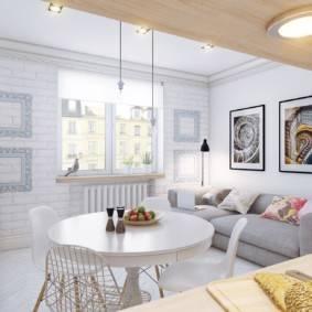 Гостиная в скандинавском стиле — 50 фото дизайна интерьеров