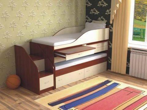 Кровать трансформер: какие бывают модели, правила выбора