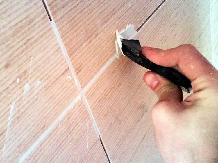Лак для затирки швов плитки — его преимущества и использование в ремонте