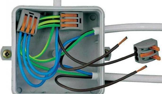 Соединение проводов сип между собой и с медным проводом - зажимы и гильзы