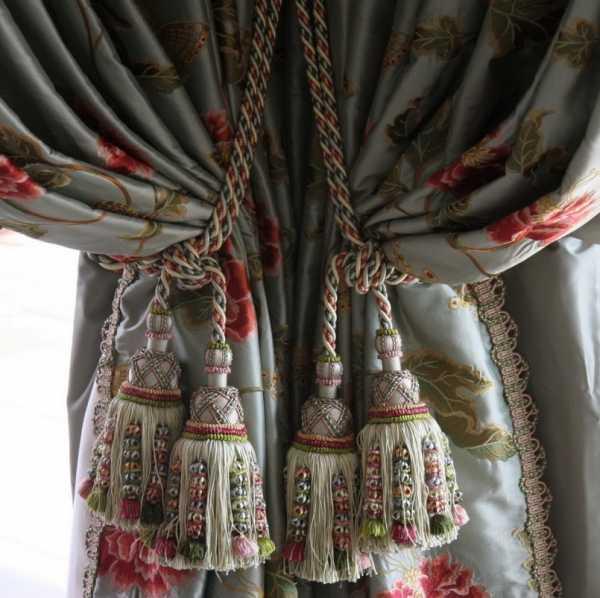 Лучшие идеи декора штор своими руками: идеи оформления штор различного типа