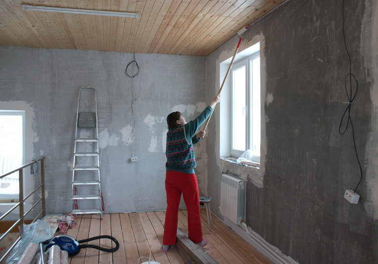 Грунтовка своими руками: как сделать продукцию для стен под обои на основе пва клея