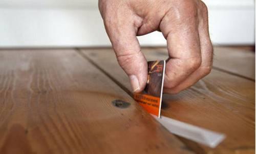 Как устранить скрип деревянного пола без вскрытия