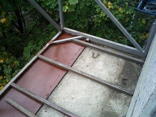 2 способа сделать балкон с выносом — по подоконнику и основанию плиты