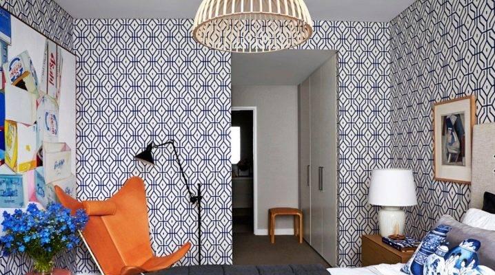 Стильные обои с геометрией: создаем изысканный дизайн с помощью простых форм