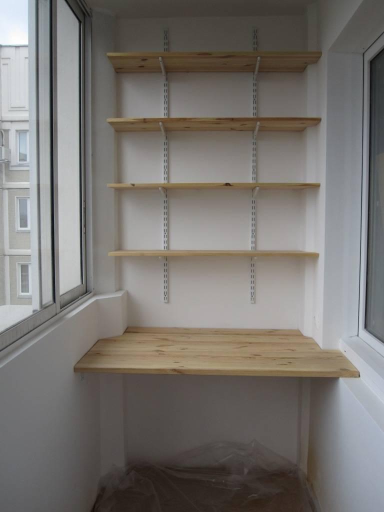Полки на балконе (59 фото): угловые навесные полочки для цветов и деревянные полки для пустых банок под подоконником, другие варианты для лоджии