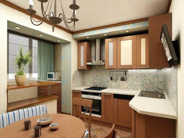 Как объединить гостиную с кухней с газовой плитой?