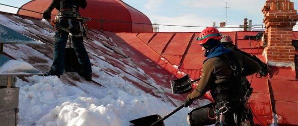 Виды страховок при работе на крышах