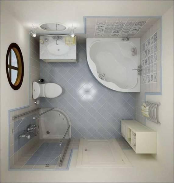 Дизайн совмещенного санузла: варианты планировки и хитрости экономии пространства