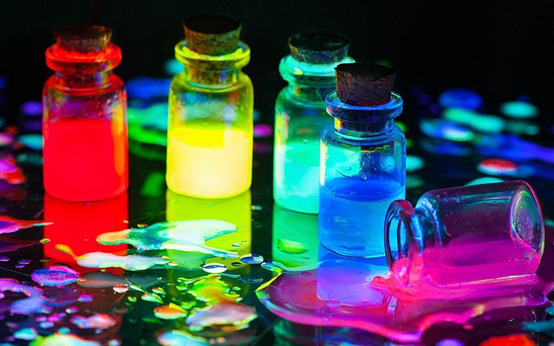 Краски которые светятся в темноте без ультрафиолета