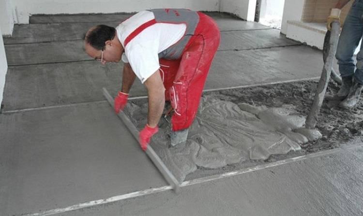 Минимальная толщина цементно песчаной стяжки снип