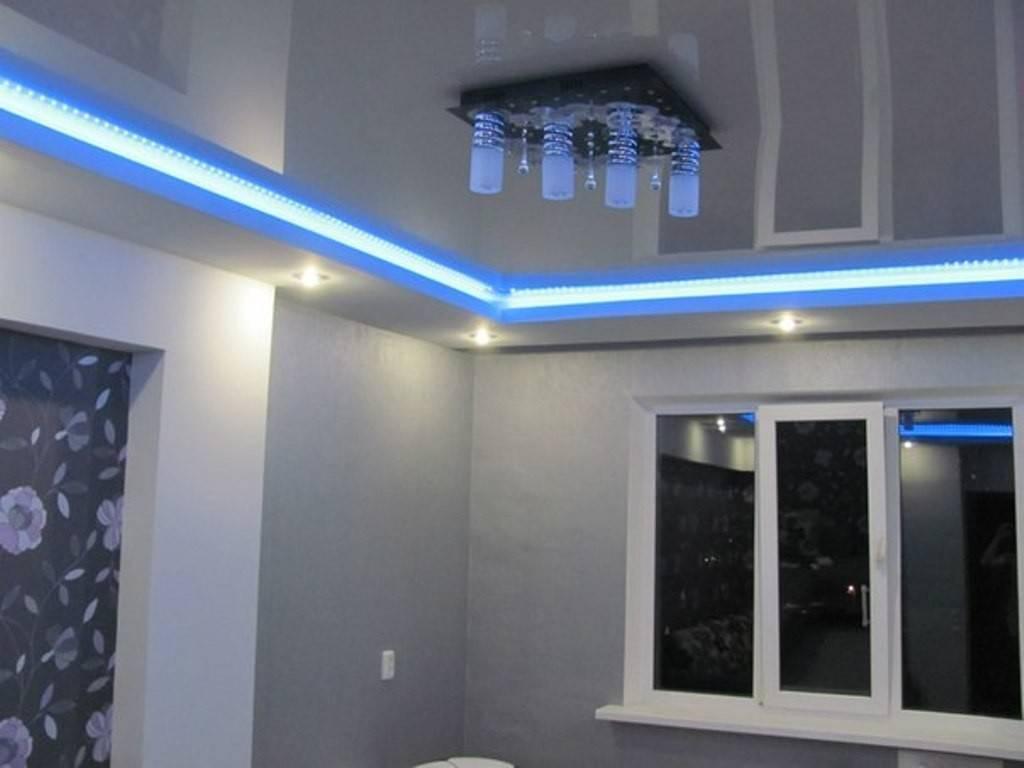 Потолок с подсветкой по периметру: инструкция по изготовлению своими руками