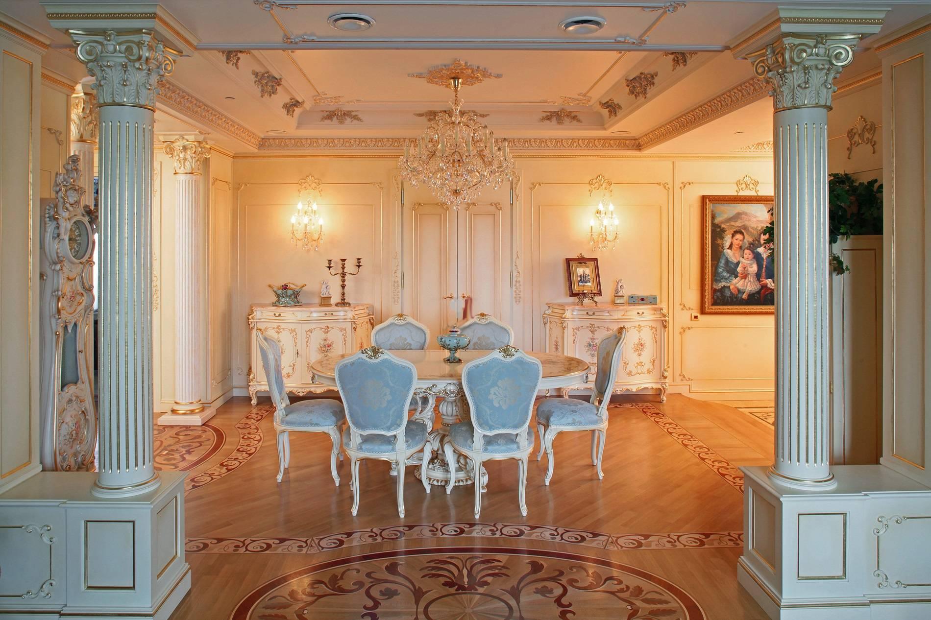 Стиль барокко в интерьере: дизайн - 42 фото