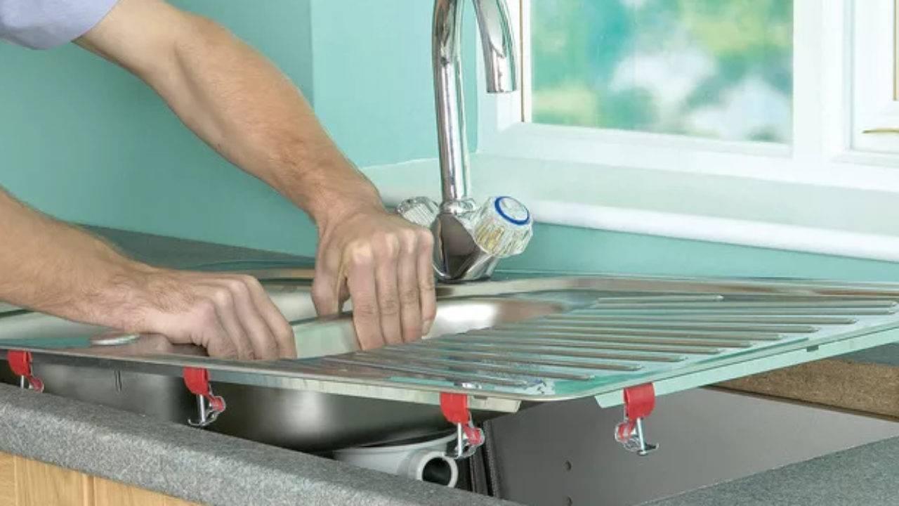 Как врезать мойку в столешницу кухни: поэтапное проведение монтажа