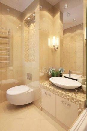 Дизайн маленькой ванной комнаты, совмещенной с туалетом (81 фото): оформление интерьера очень маленького санузла, планировка в малогабаритной комнате. как разместить сантехнику на небольшой площади?