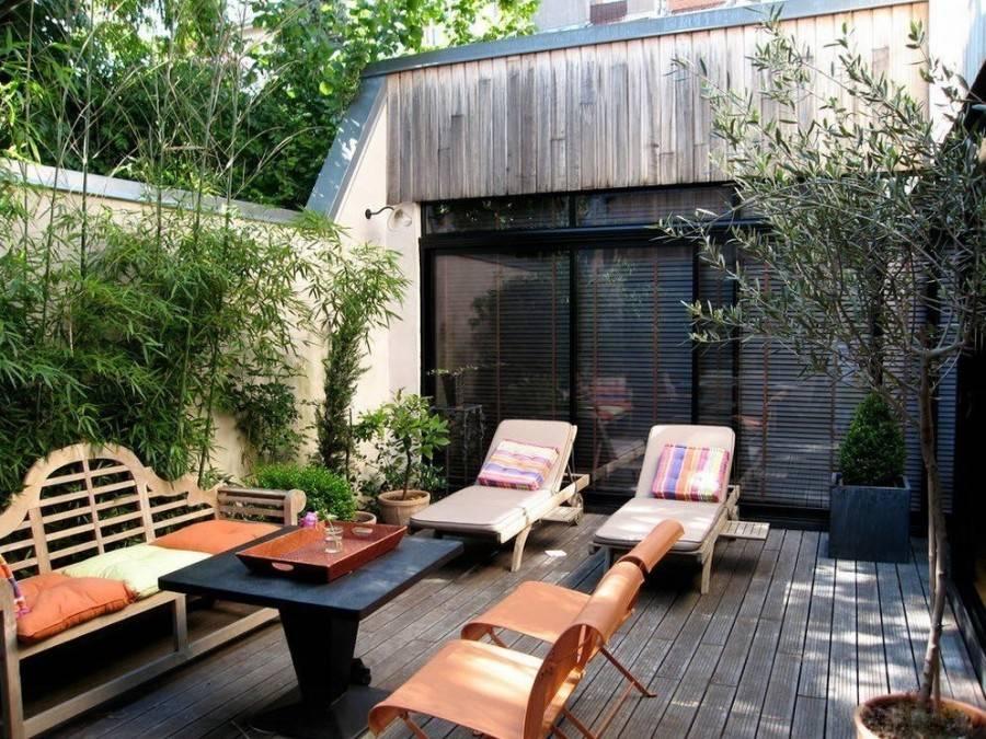 Как создать зону отдыха на даче своими руками: фото современных патио, идеи по обустройству