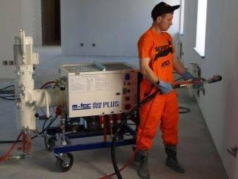 Отличие штукатурки машинного нанесения от штукатурки ручного нанесения | блог сайта lomrem.ru