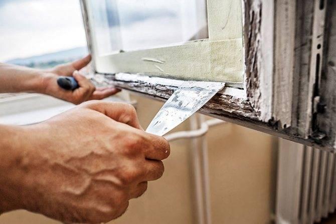 Как сделать замазку для деревянных окон своими руками