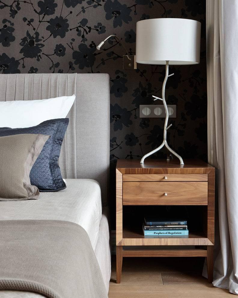 Прикроватные тумбочки: море возможностей в дизайне вашей спальни